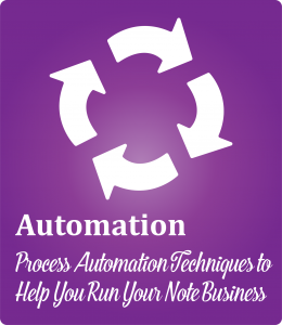 Note Investing Process Automation Small