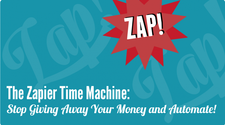 The Zapier Time Machine<br><h5>Automate the Small Stuff and Focus on Your Business. Why Every Note Investor is Giving Away Money Without Zapier.</span>